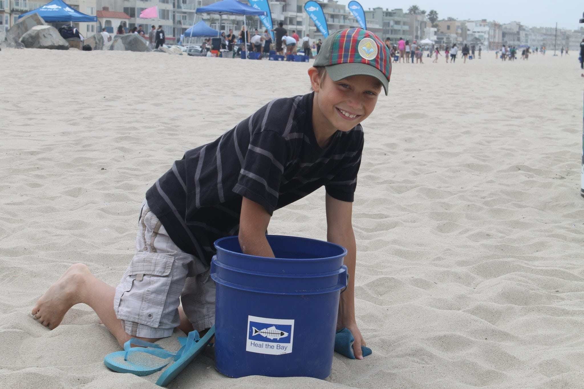 Heal The Bay's Beach Clean Up & Earth Day Celebration