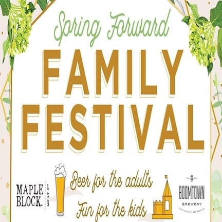 Boomtown Brewery Spring Forward Family Festival