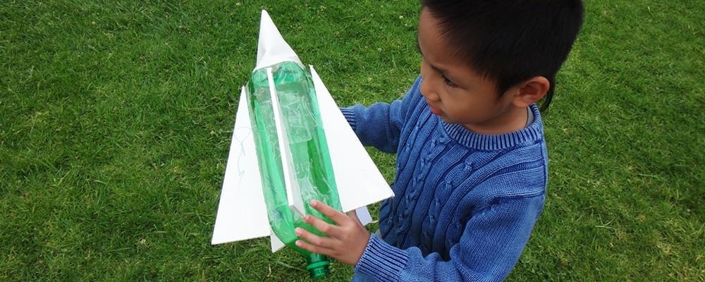Discovery Cubes' Rocket Launch