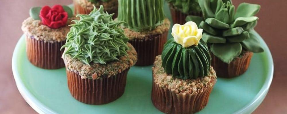 Huntington Children's Workshop: Cactus Cupcakes