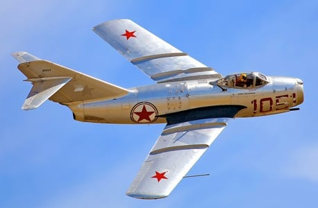 Living History Flying Day: MiG-15