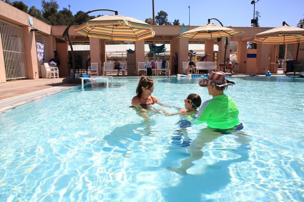 accessible water play