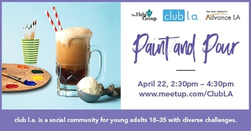 Paint and Pour with club l.a.