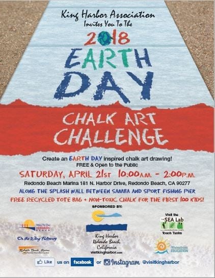 8th Annual Earth Day Chalk Art Challenge