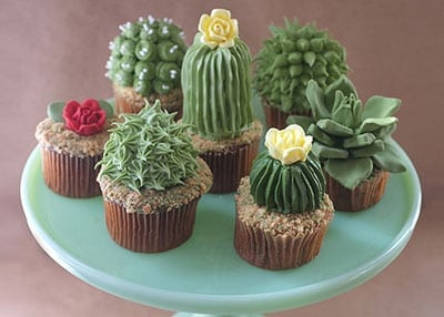 Huntington Children's Workshop: Cactus Cupcakes