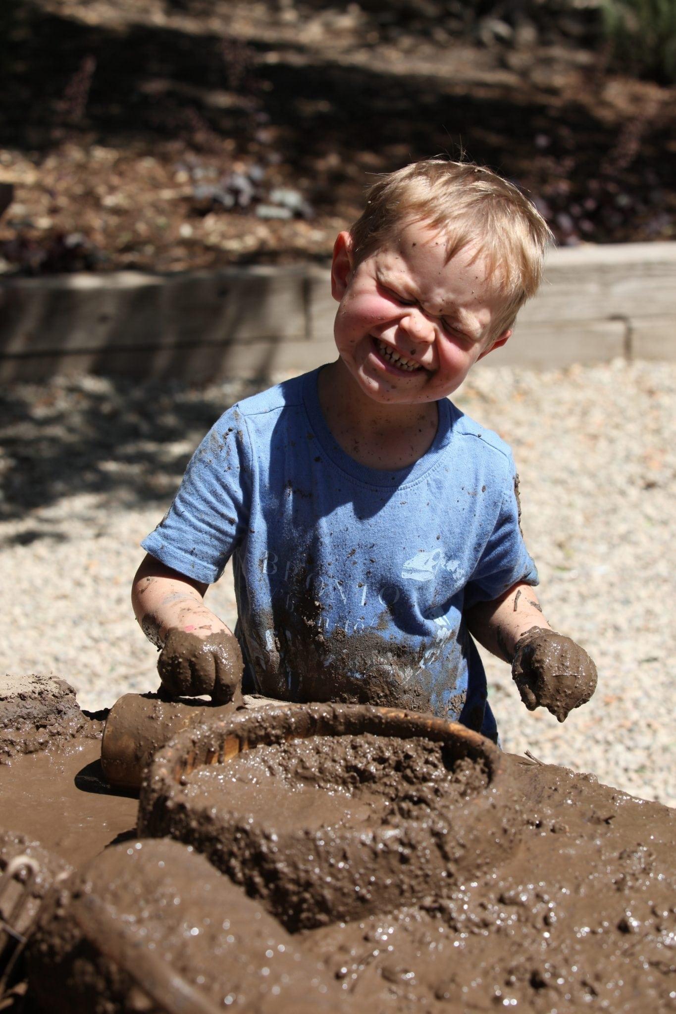 Kidspace Pop-Up Program: Mud City