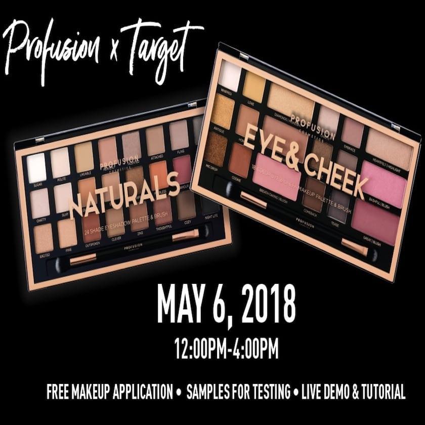 Profusion Cosmetics Demo Event