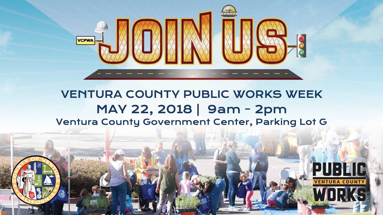 Ventura County Public Works Agency's Public Works Week Community Event