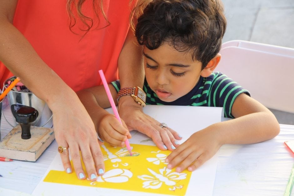 PMCA's Children's Workshop: Painting The Imaginary
