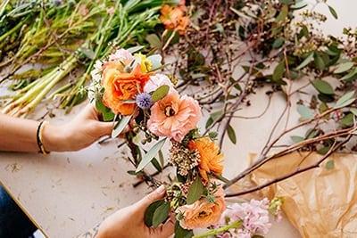 Mother's Day Flower Crown Workshop