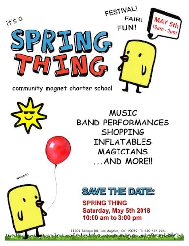 The Spring Thing Festival
