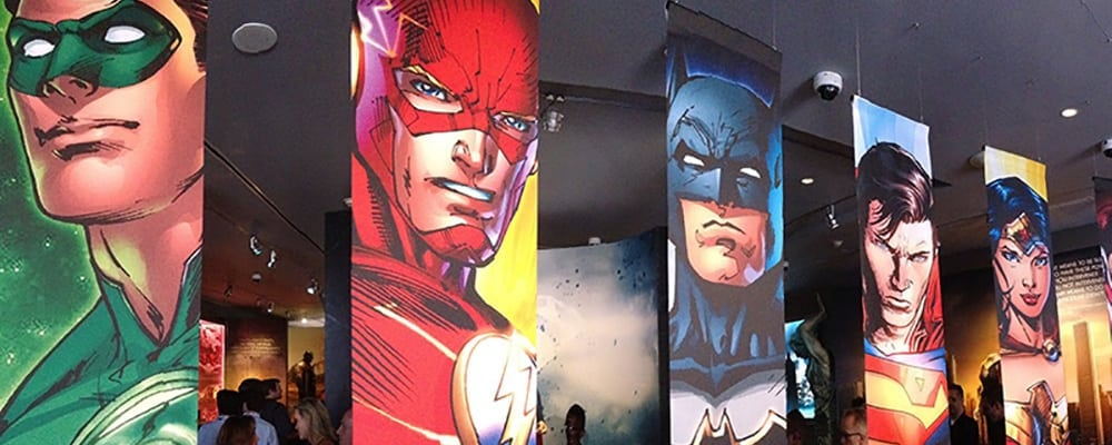 Warner Bros. Studio Tour's Justice League Exhibit