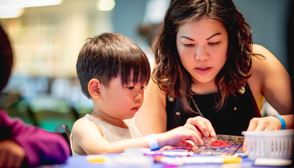 The Broad's Family Weekend Workshops