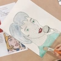LACMA Family Program On-Site: Comic-Inspired Art