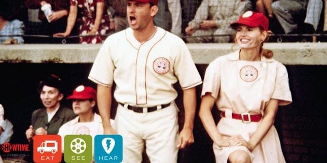 Eat|See|Hear Outdoor Movie: A League Of Their Own