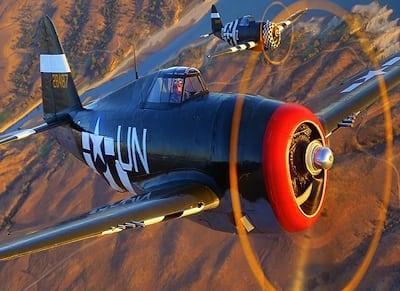 Living History Flying Day: P-47 Thunderbolt