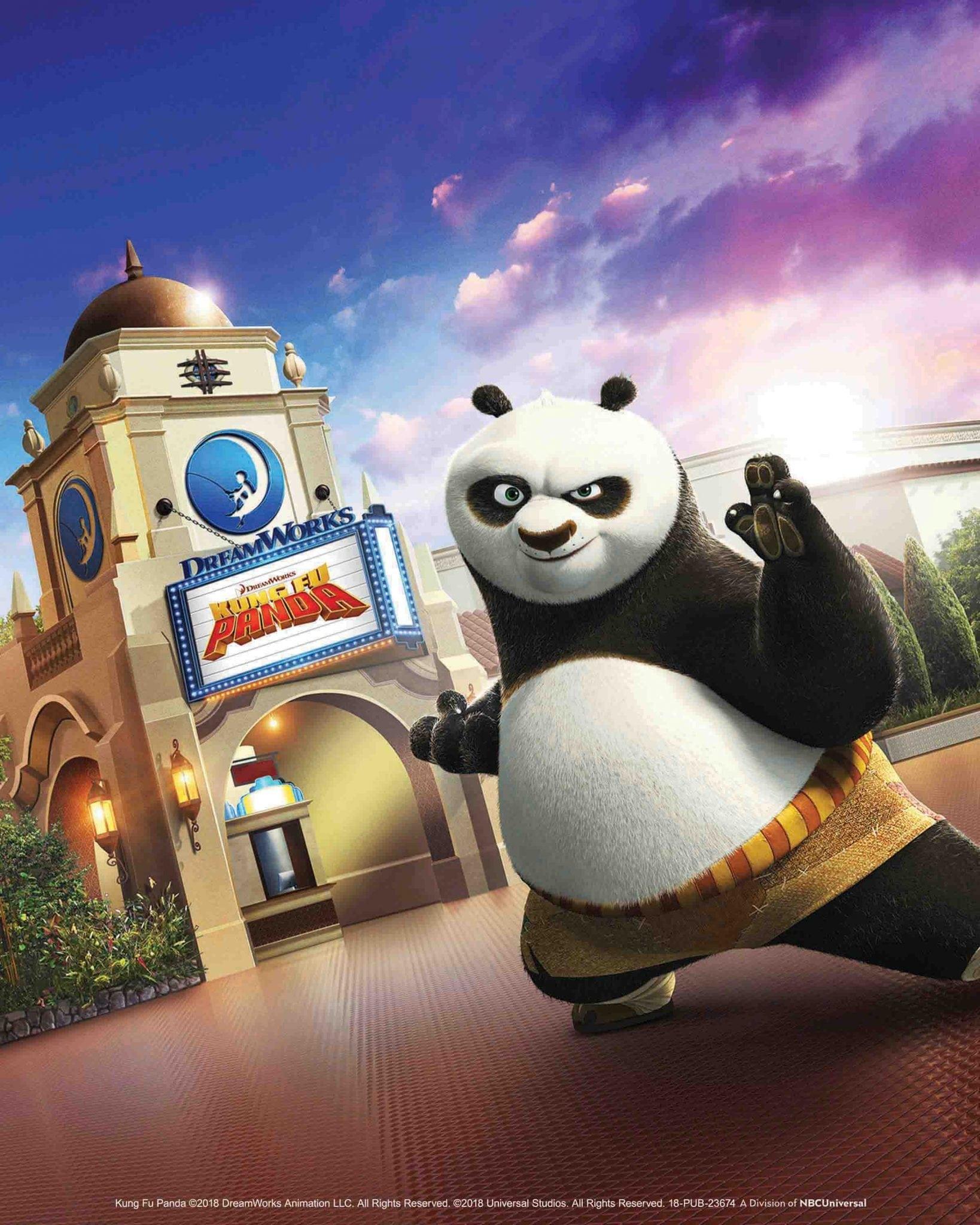 Kung Fu Panda: The Emperor's Quest Premiere