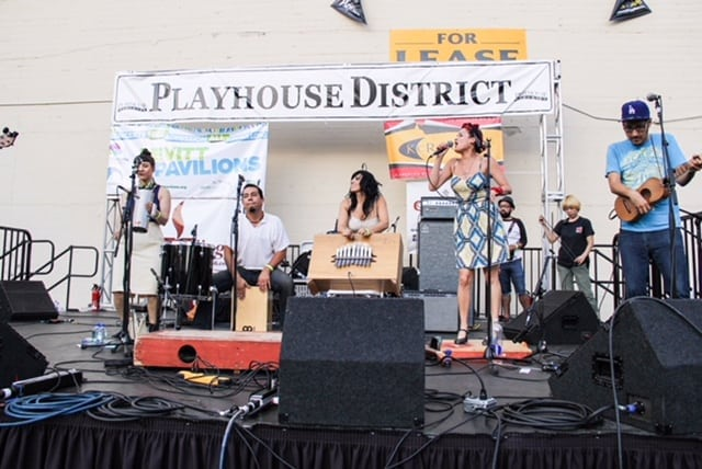 Playhouse Block Party