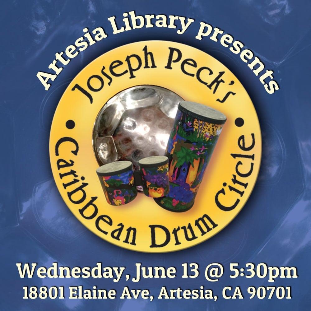 Joseph Peck in Concert at Artesia Library's Ice Cream Social