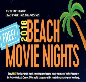 Dockweiler Youth Center's Beach Movie Nights