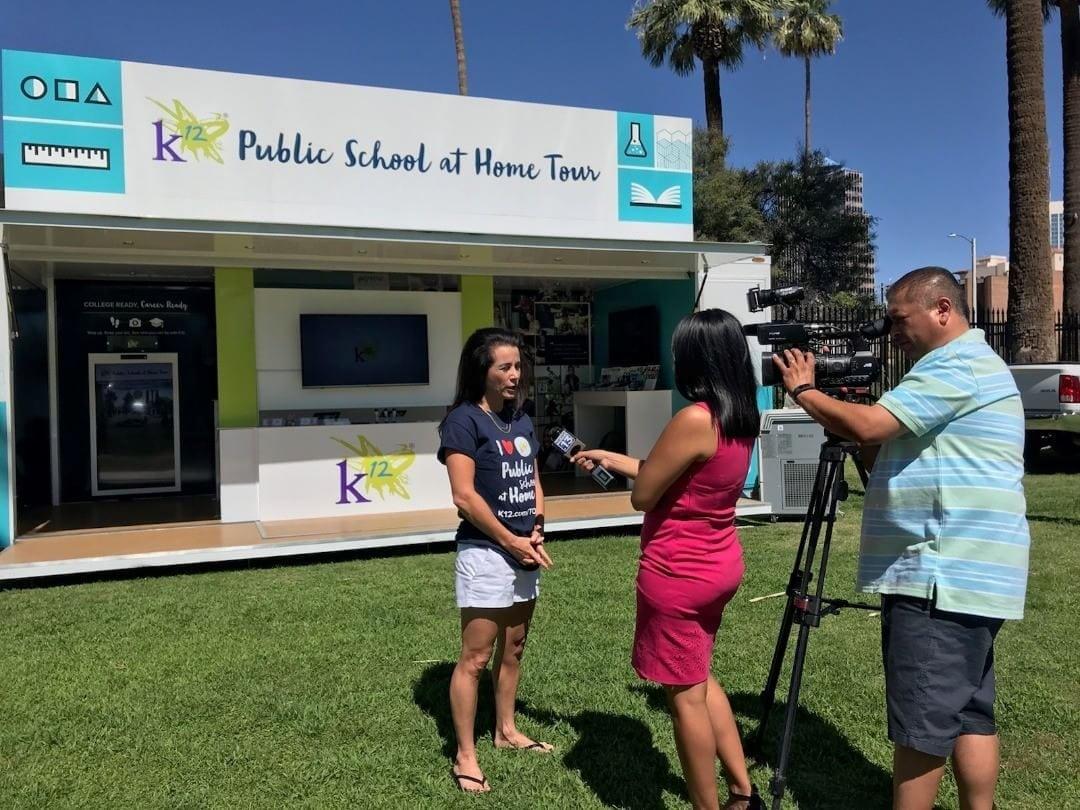 K12 Public School at Home Tour