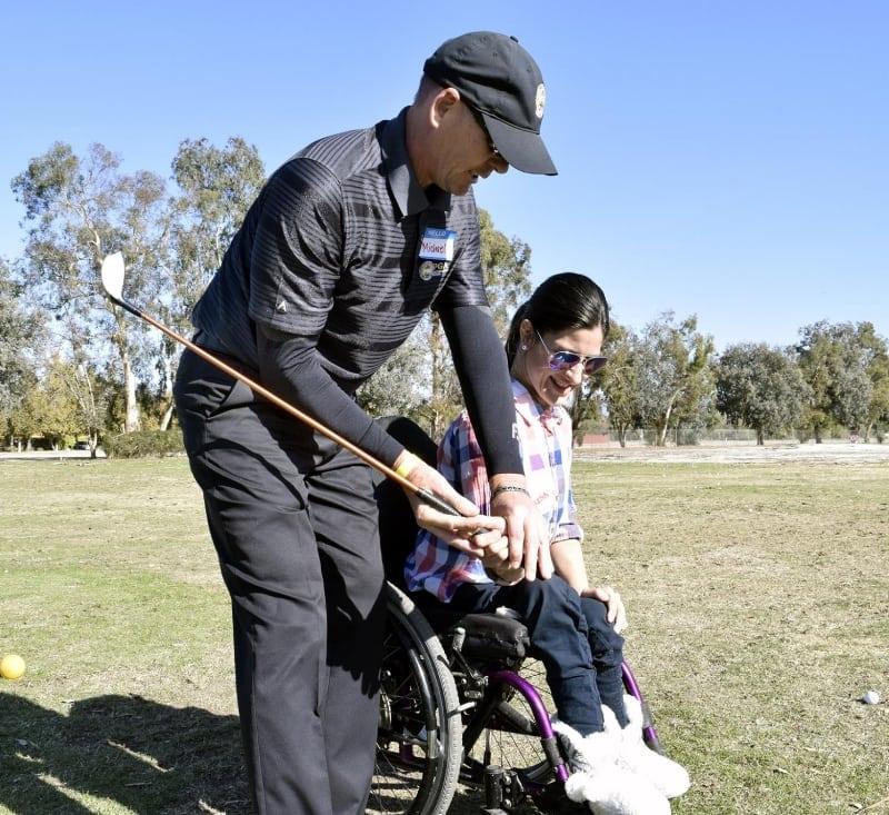 Angel City Sports Adaptive Golf Clinic