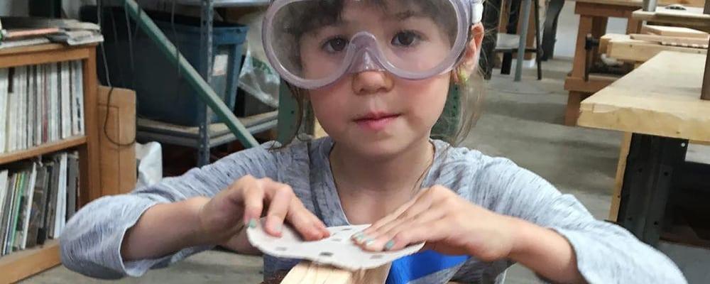Kids Woodworking Workshop