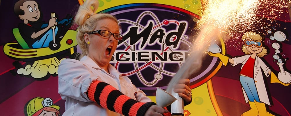 Mad Science Fire and Ice Show at the Santa Monica Public Library