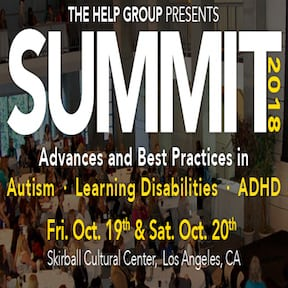 The Help Group Summit: A Conference Focusing on Autism, Learning Disabilities and ADHD