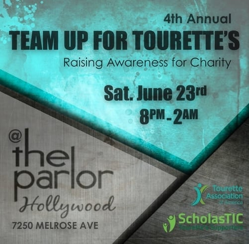 """4th Annual """"Team Up For Tourette's"""" Charity Event"""