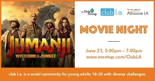 Movie Night with club l.a.
