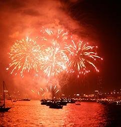 Marina Del Rey's July 4th Fireworks