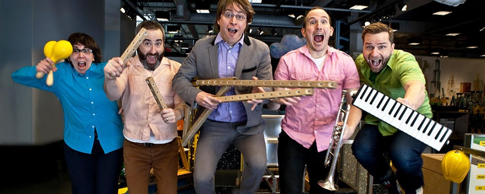 Garden Concerts for Kids: Justin Roberts & the Not Ready for Naptime Players