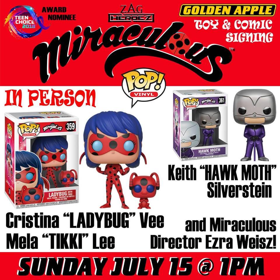 Miraculous Ladybug Toy & Comic Cast Signing