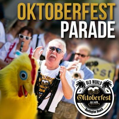 Old World Huntington Beach Oktoberfest Parade
