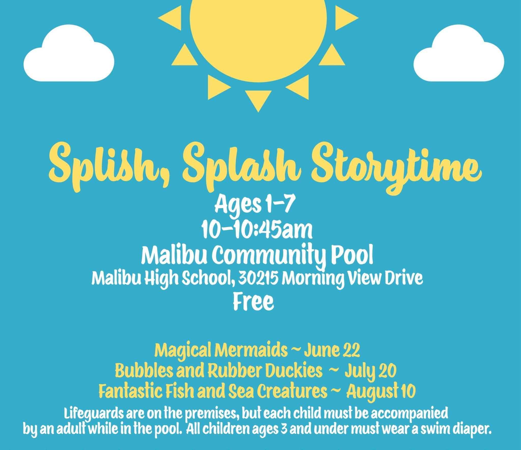 Splish, Splash Storytime