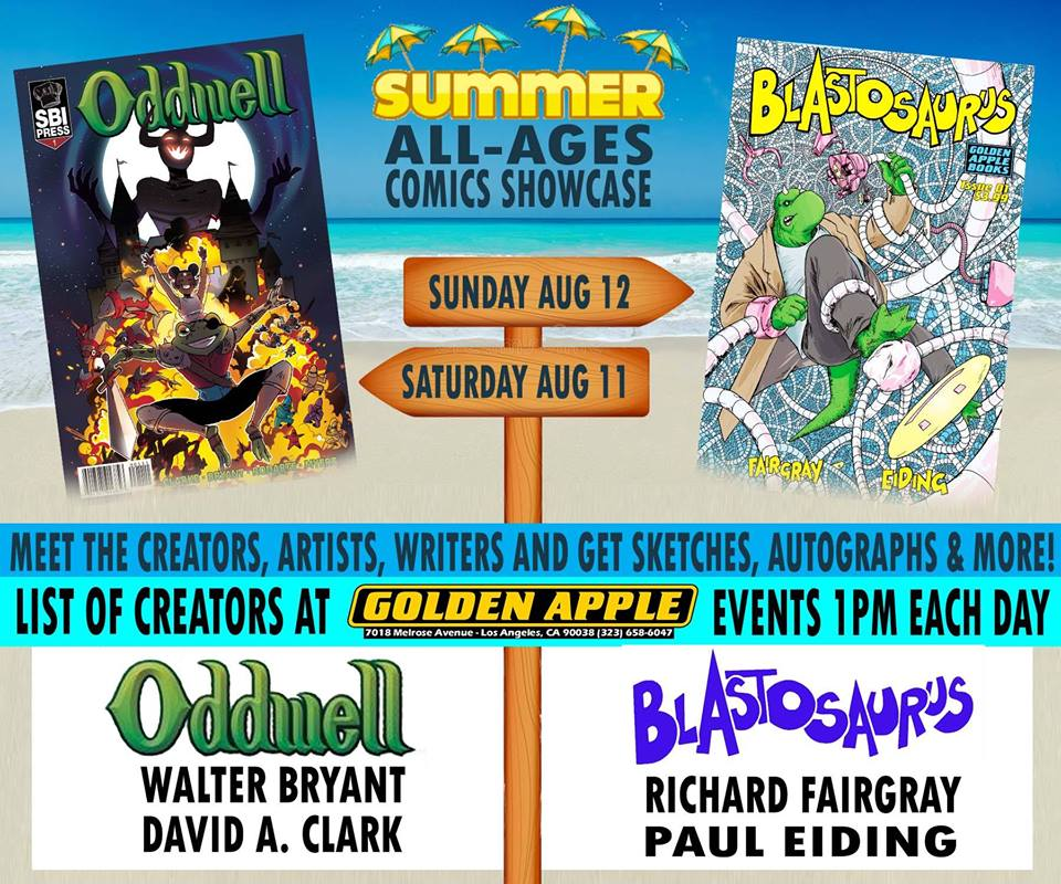 Summer All-Ages Comics Showcase