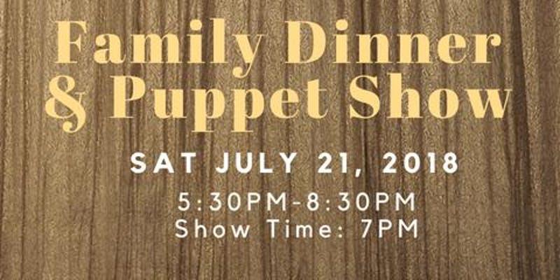 River East School Family Dinner & Bob Baker Marionette Puppet Show