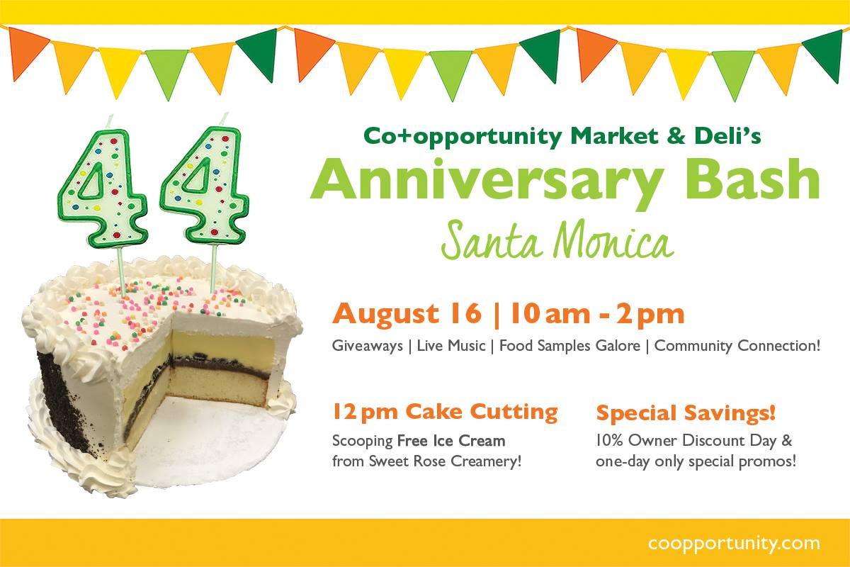 Co+opportunity's 44th Anniversary Bash