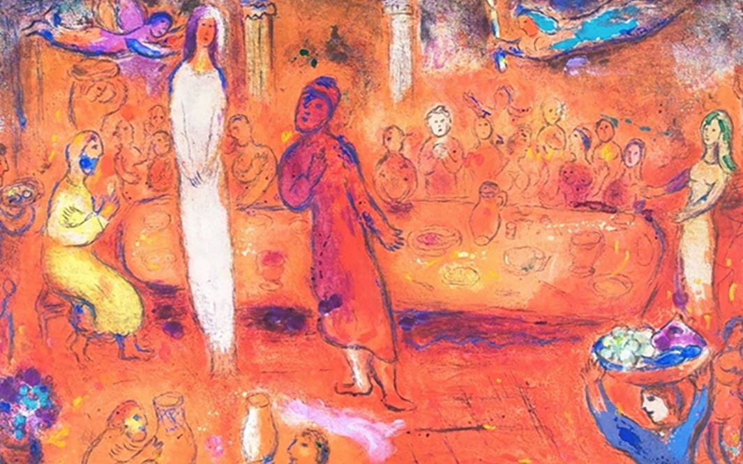 Marc Chagall Lecture at Galerie Michael