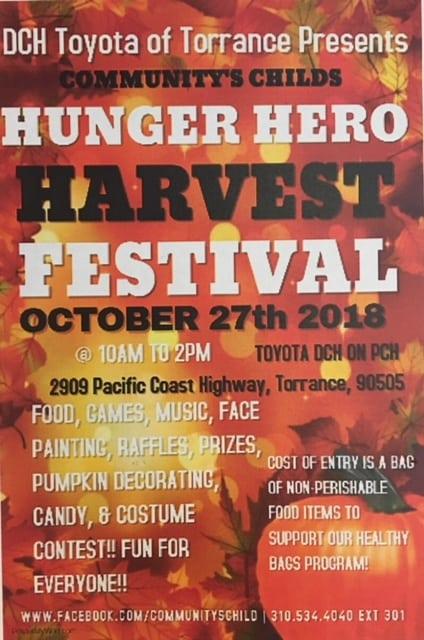Hunger Hero Harvest Festival