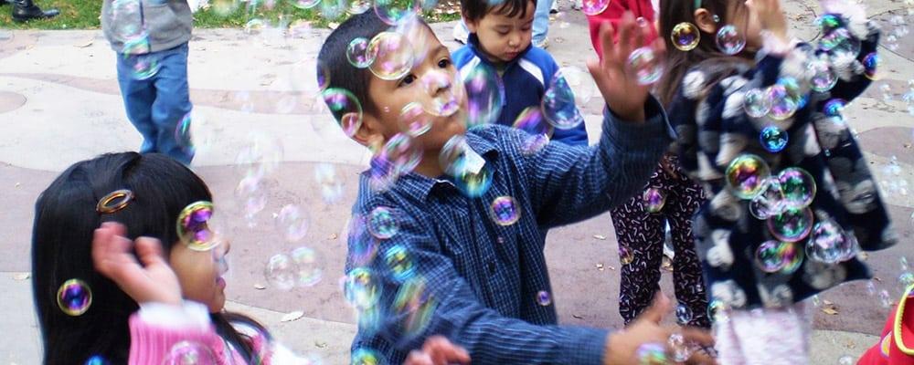 Kidspace Pop-Up Program: Bubble Party