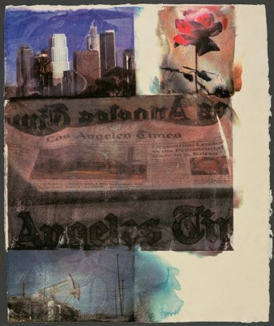 Rauschenberg: In and About L.A. Exhibit