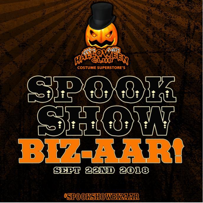 Halloween Club's Spook Show Biz-aar!