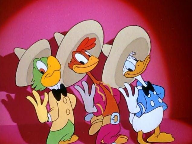 El Cine Presents Donald Duck in The Three Cabelleros