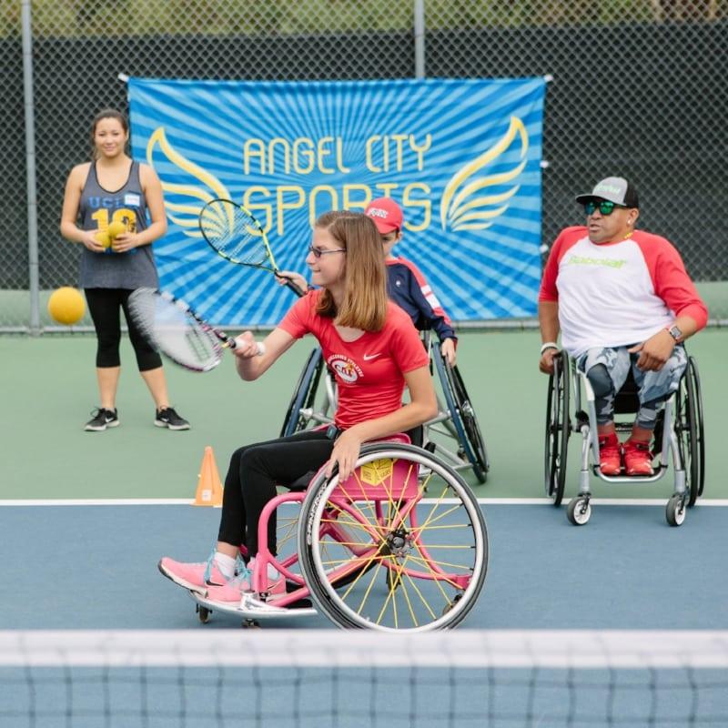 Wheelchair Tennis Clinic