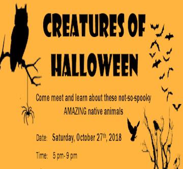 Eaton Canyon presents Creatures of Halloween