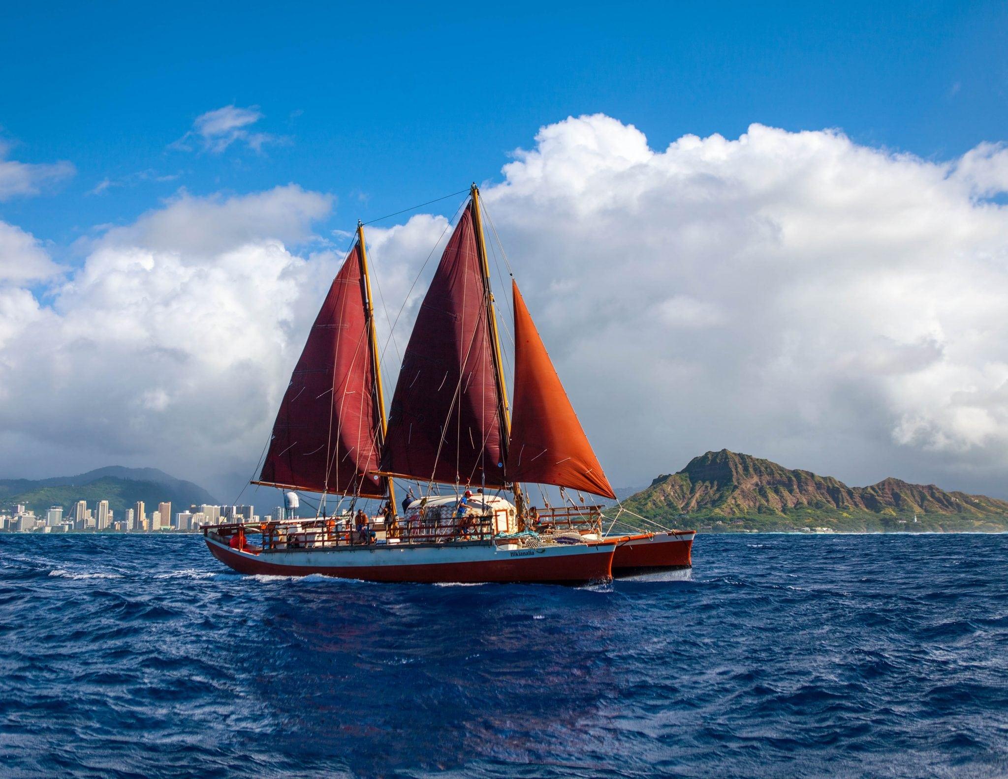 Polynesian Voyaging Canoe Visits Ventura Harbor Village