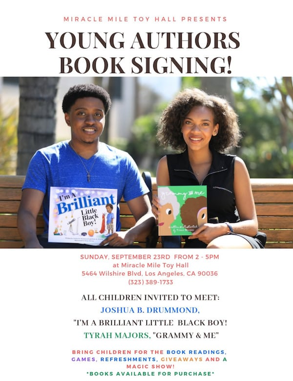 Young Authors Book Signing