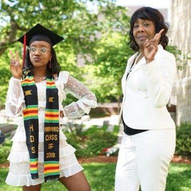 mother-daughter graduates